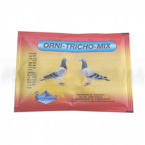 Pigeon Product - Orni-Tricho-Mix - 5 sachets - bronchial