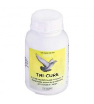 Tri-Cure 100 tablets - Coccidiosis - Canker - Worm - by Medpet