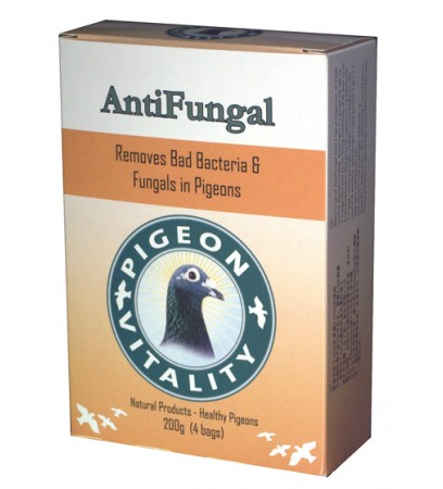 Anti Fungal box 200gr - fungals - bad growth of feather - by Pigeon Vitality