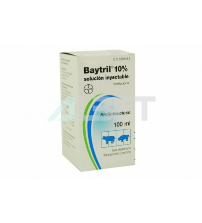 Baytril - Enrofloxacina 10% Inject - by Bayer