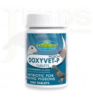 Doxyvet-P - 100 tablets - Mycoplasma - Ornithosis - by Vetafarm