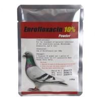 Enrofloxacin 100g - Enrofloxacine 10% - Powder Treatment