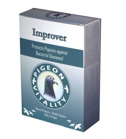 Improver box 200gr - Ornithosis - Chlamydia - by Pigeon Vitality