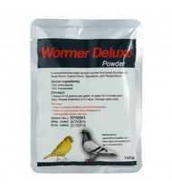 Wormer Deluxe 100gr powder - Worm Treatment - Racing Pigeons