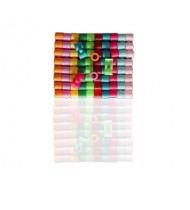Rings/Bands for racing pigeons - Plastic Cover Rings 50pk