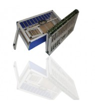 "Aluminum Training Basket for 12 pigeons 25""x 14""x 8.5"""