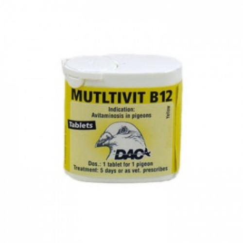 Racing Pigeons Multivit B12 by DAC Pigeon Product