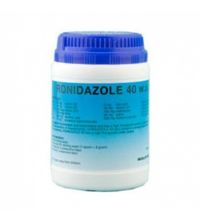 Ronidazole 40 - trichomoniasis and hexamitiasis - by Pantex