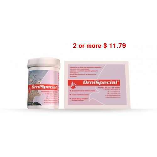Orni-DS Tab individual treatment Ornithosis by Giantel Pigeon Product